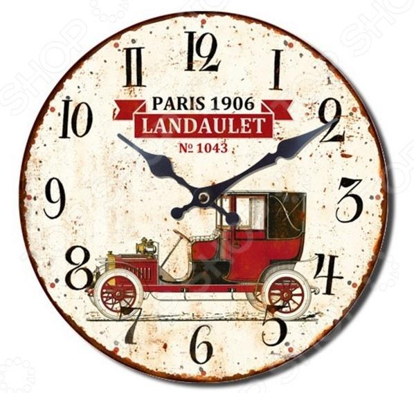 Часы настенные Mitya Veselkov «Винтажное авто-3»