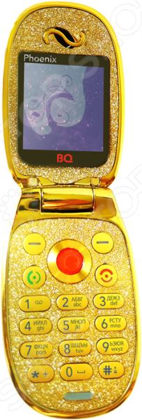 Фото - Мобильный телефон BQ «Феникс» проводной и dect телефон foreign products vtech ds6671 3