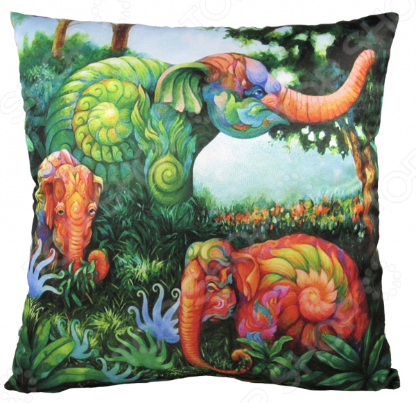 Подушка декоративная Gift'n'Home «Волшебные джунгли»