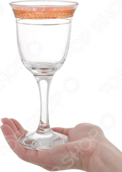 Набор вогнутых фужеров для вина Гусь Хрустальный «Махараджа» Гусь Хрустальный - артикул: 1616180