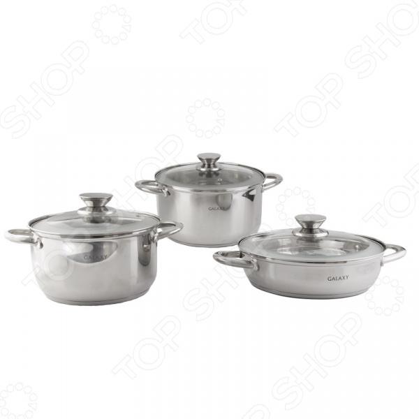 Набор посуды Galaxy «Незаменимый»