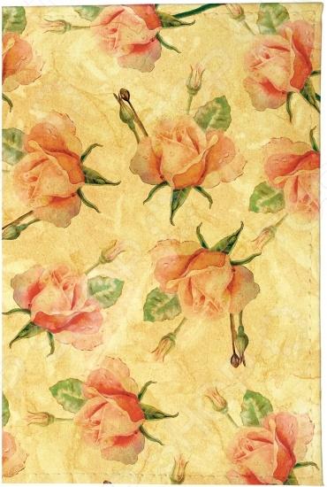 Обложка для автодокументов кожаная Mitya Veselkov «Чайные розы»