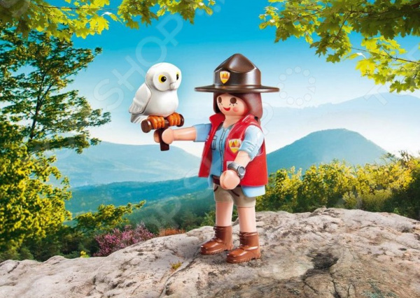 Фигурка сборная Playmobil «Друзья: Смотритель парка» кукла карапуз маша 25см м фмаша и медведь руссифиц с набором доктор в кор в кор 18шт