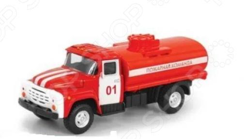 Машина инерционная PlaySmart «Грузовик пожарный с цистерной»
