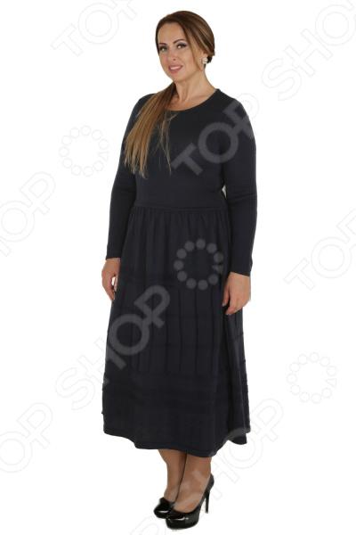 Платье VAY «Застенчивая улыбка». Цвет: серый