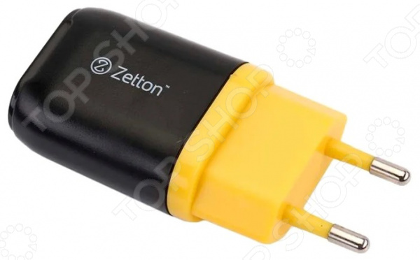 Фото - Устройство зарядное сетевое Zetton ZTLSTC1A1 сетевое зарядное устройство zetton ztlstc2a2uby