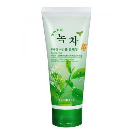 Купить Пенка для умывания FoodaHolic с экстрактом Зеленого Чая