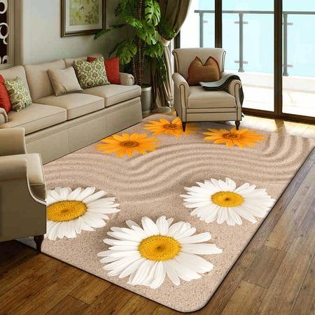 Купить Ковер ТамиТекс «Цветы на песке»
