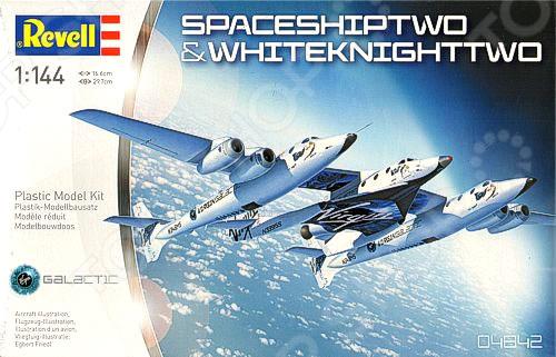 Набор для сборки корабля и самолета Revell «SpaceShipTwo и Carrier White Knight Two»