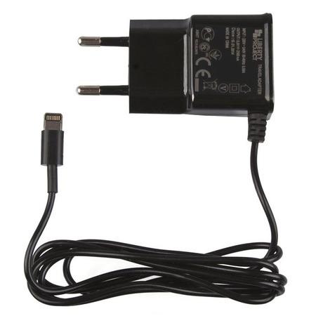 Купить Устройство зарядное сетевое LP 2,1 А для Apple 8 pin. Европакет
