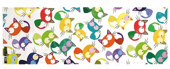 Обложка для студенческого билета Mitya Veselkov «Цветные кошки мешанина»