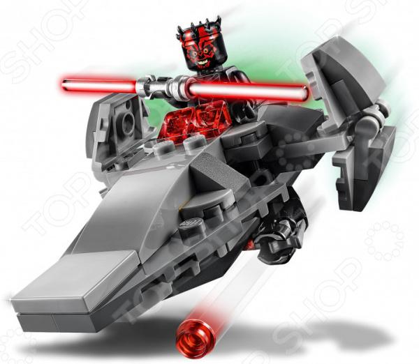 Конструктор для мальчика LEGO 75224 Star Wars «Микрофайтеры: Корабль-лазутчик ситхов»