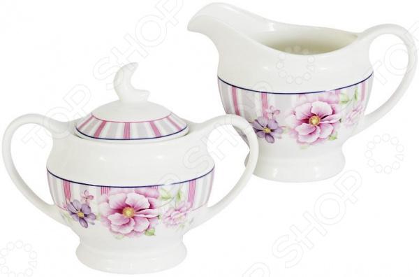 Сахарница и молочник Primavera «Цветочная феерия»