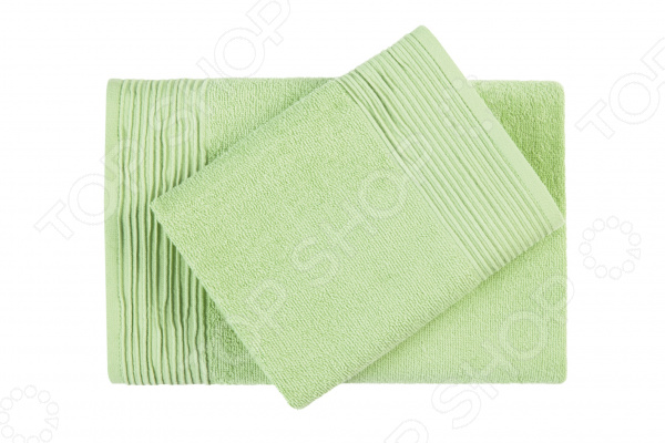 Фото - Полотенце махровое Aquarelle «Палитра». Цвет: светло-зеленый полотенце minimoto ya04462