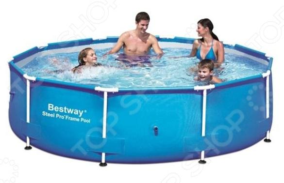 Бассейн каркасный Bestway 56406 каркасный бассейн bestway power steel deluxe 427x107 см 56664 13030 л