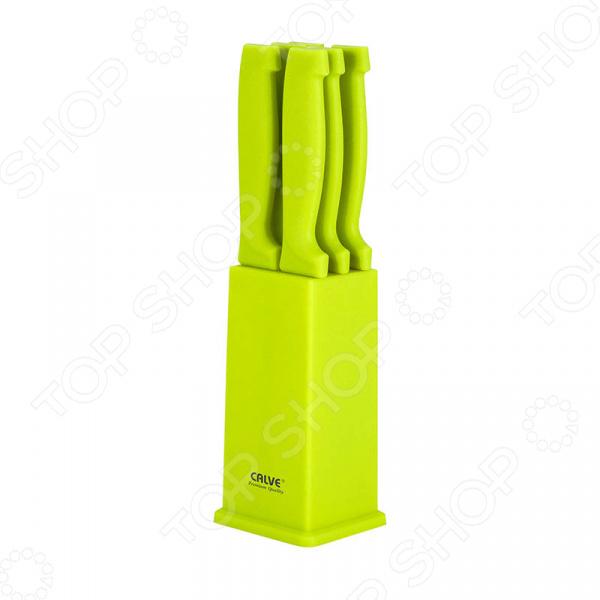 Набор ножей Calve CL-3123 calve точилка для ножей calve cl 3121 сиреневый сиреневый