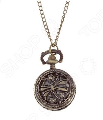 где купить Кулон-часы Mitya Veselkov «Медальон с стрекозой» по лучшей цене