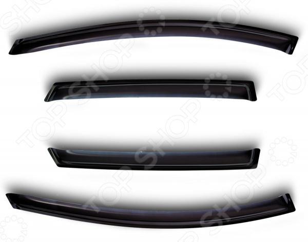 Дефлекторы окон Novline-Autofamily Volvo S40 2004-2012