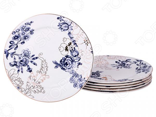 Набор тарелок подстановочных Lefard «Цветы»