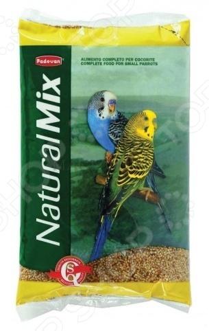 Корм для волнистых попугаев Padovan Naturalmix Cocorite корм для тропических птиц padovan wellness mix полнорационный 1кг