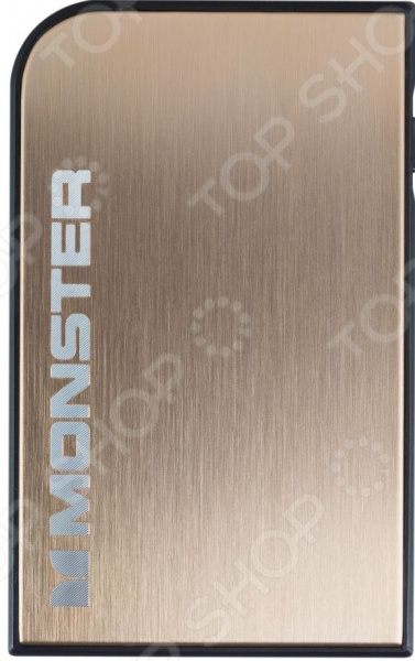 Аккумулятор внешний MONSTER Mobile PowerCard Turbo 2600mah power bank usb блок батарей 2 0 порты usb литий полимерный аккумулятор внешний аккумулятор для смартфонов светло зеленый