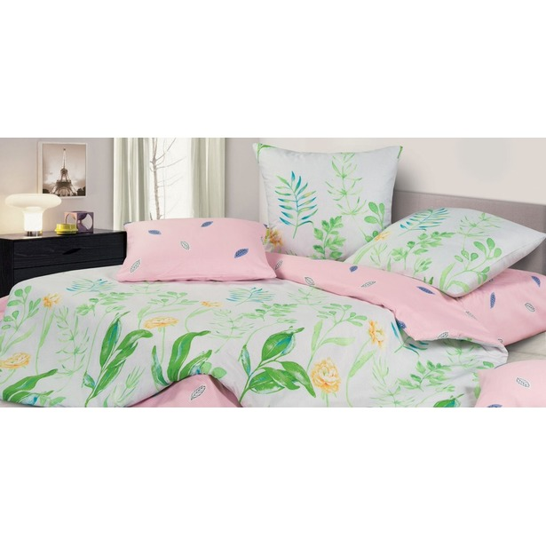 фото Комплект постельного белья Ecotex «Гармоника. Фрезия». Размерность: семейное