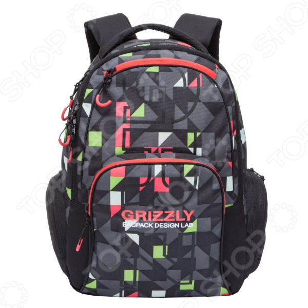 Рюкзак молодежный Grizzly RU-709-2/3