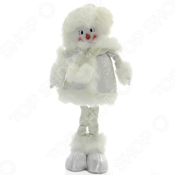 Игрушка новогодняя Новогодняя сказка «Снеговик» 972006