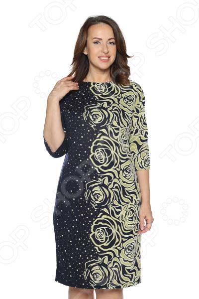 Платье VEAS «Миллион роз». Цвет: зеленый укрытие для роз shelterlogic 1м
