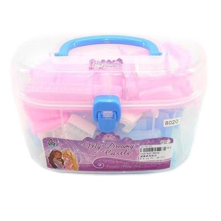 Купить Набор мебели для куклы Shantou Gepai в чемоданчике 8020