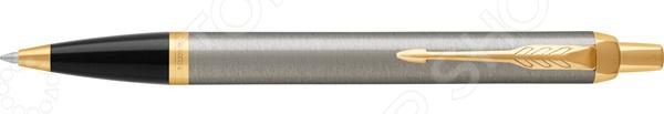 Ручка шариковая Parker IM Core Brushed Metal GT