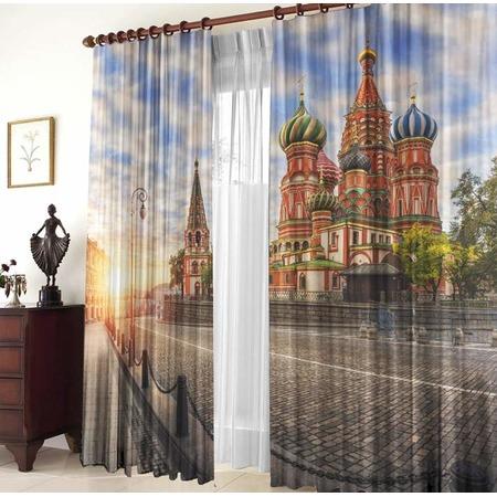 Купить Фотошторы ТамиТекс «Моя Москва»