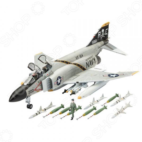 Сборная модель истребителя Revell F-4J Phantom US Navy