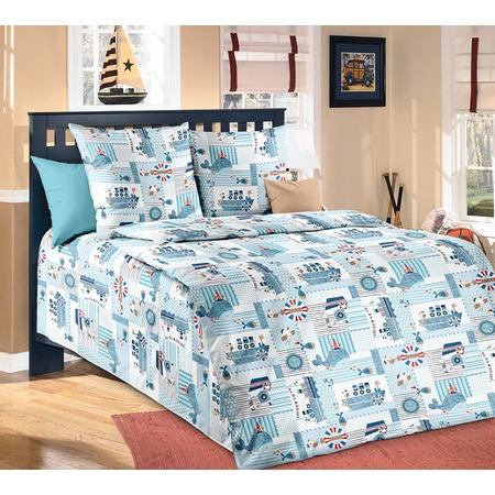 Купить Детский комплект постельного белья Бамбино «Кораблики»