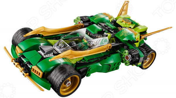 Конструктор-игрушка LEGO Ninjago «Ночной вездеход ниндзя»