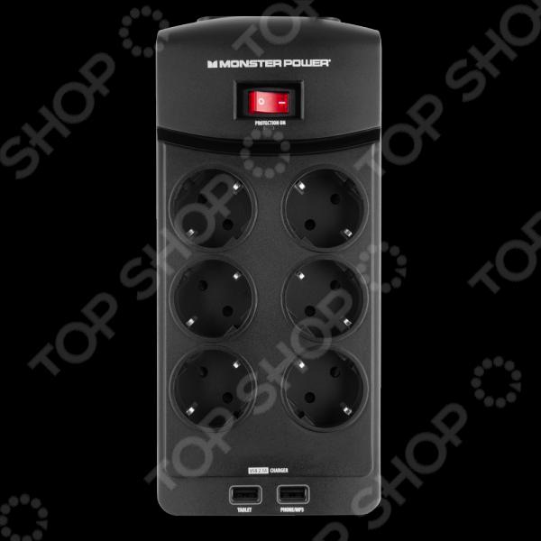 Фильтр сетевой MONSTER Core Power 600 USB