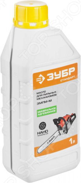 Масло для пильных механизмов Зубр ЗМПМ-М масло echo д смазки цепи и шины premium 0 95л 6459013