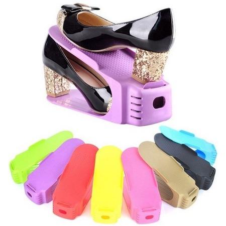 Купить Подставка для обуви Double Shoe Racks. В ассортименте