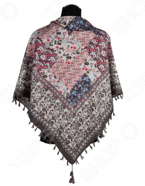 Платок Bona Ventura PL.XL-H.Pr.19 недорогой платок на шею для женщин