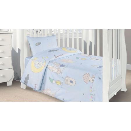 Купить Ясельный комплект постельного белья Ecotex Kids 29