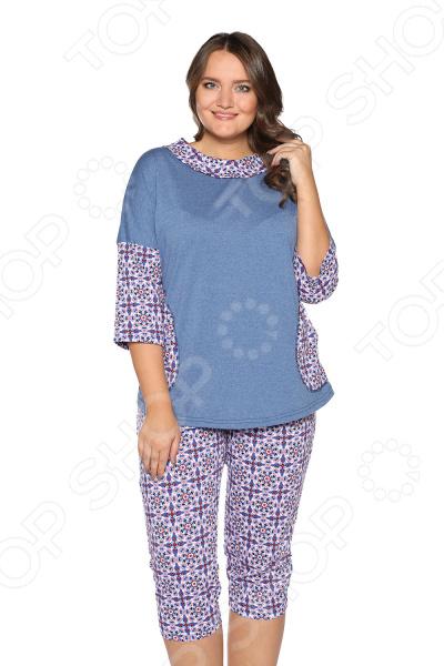 Костюм Алтекс «Домашняя идиллия». Цвет: синий, красный костюм алтекс домашняя забота цвет бежевый