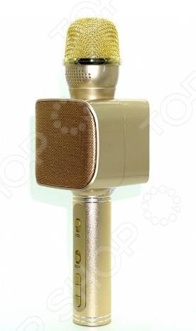 Микрофон для караоке YS-68    /Золотистый