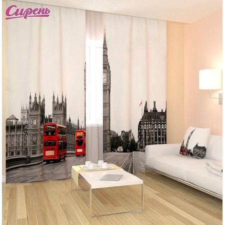 Купить Фотошторы Сирень «Лондон»