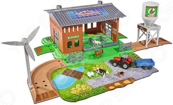 Набор игровой Majorette Creatix «Ферма» majorette игровой набор construction