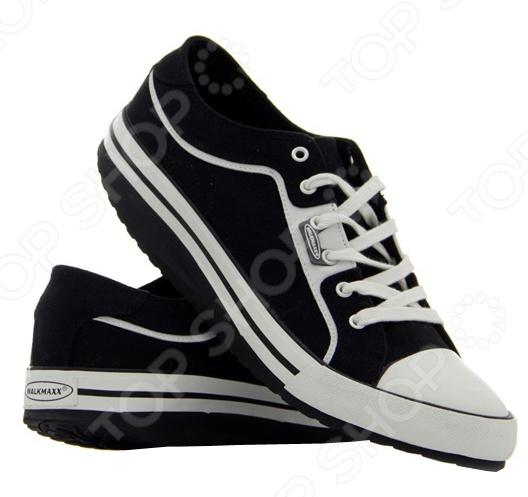 Кеды Walkmaxx это универсальная, практичная обувь для мужчин и женщин. С развитием моды спортивная обувь перестала покупаться только для тренировок и активного отдыха. Кеды Walkmaxx легкие, удобные, практичные, стильные как раз то, что нужно каждому современному человеку. Кеды с удовольствием носят как студенты, так и устроившиеся в жизни люди. Эта универсальная обувь подкупает своей практичностью и мужчин и женщин. Кеды подходят для прогулок, вечеринок, концертов и фестивалей. Кеды Walkmaxx это сочетание хорошего стиля и комфорта со всей невероятной выгодой запатентованной подошвы Walkmaxx. Именно этот вид обуви является на сегодняшний день популярным и востребованным. Удобство и комфорт достигаются за счет легкого веса и оптимальной поддержки стопы. Натуральная поверхность из хлопка, обеспечит свежесть ваших ног на весь день.   Вряд ли вам удастся найти более привлекательный и стильный вариант, чем такие кеды! Удобные и стильные, они придают каждому образу оригинальности! Кеды Walkmaxx разработаны, чтобы сделать вашу жизнь лучше, а дорогу приятнее.  Преимущества Walkmaxx Leisure Shoe  Очень легкие.  Воздухопроницаемые и гибкие.  Равномерно распределенный вес тела.  Очень гибки, создают ощущение, что вы гуляете босиком.  Поглощают удар. Снижают нагрузку на позвоночник, пятку, голень, коленные и тазобедренные суставы. Верхняя часть:  100 хлопок обеспечивает свежесть на весь день.  Шнуровка, для оптимальной регулировки под объем вашей ноги. Подошва:  Многослойная прочная подошва с прослойкой из филона, амортизирует удар.  Уникальная закругленная подошва имитирует естественные движения при ходьбе.  Износостойкая подошва из грубой резины.  Сделанные из прочных, качественных материалов будут служить вам долгое время.  Преимущества оригинальной округлой подошвы Walkmaxx Комфортная и удобная обувь, может вам помочь:  Улучшить осанку.  Снять напряжение.  Предотвратить боли в суставах и спине.  Равномерно распределит вес тела, давление переходит от суставов на мышцы.  Улучш