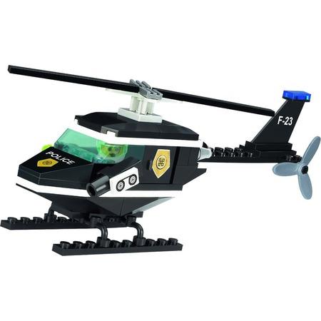 Купить Конструктор игровой для ребенка Brick «Вертолет полицейский» 123