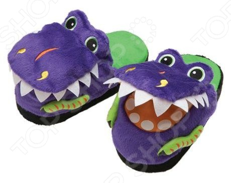 Тапочки-игрушки Silly Slippeez DINOSAUR