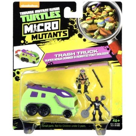 Купить Игровой набор Nickelodeon Trash Truck. Super Ninja Donnie&Robotic Foot Soldier