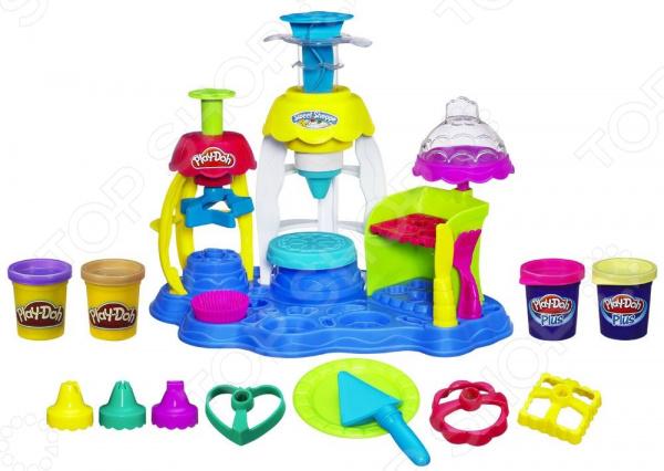 Набор пластилина игровой Hasbro Play-Doh «Фабрика пирожных»