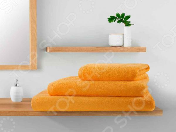 Полотенце махровое Guten Morgen. Цвет: оранжевый